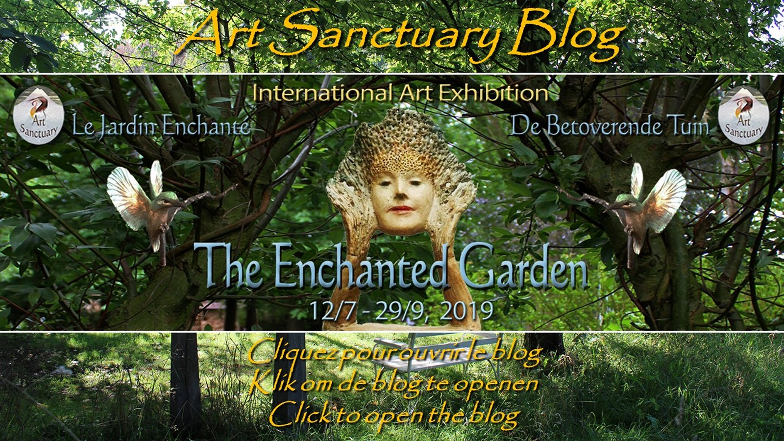 """Art Sanctuary blog (Click to select)"""